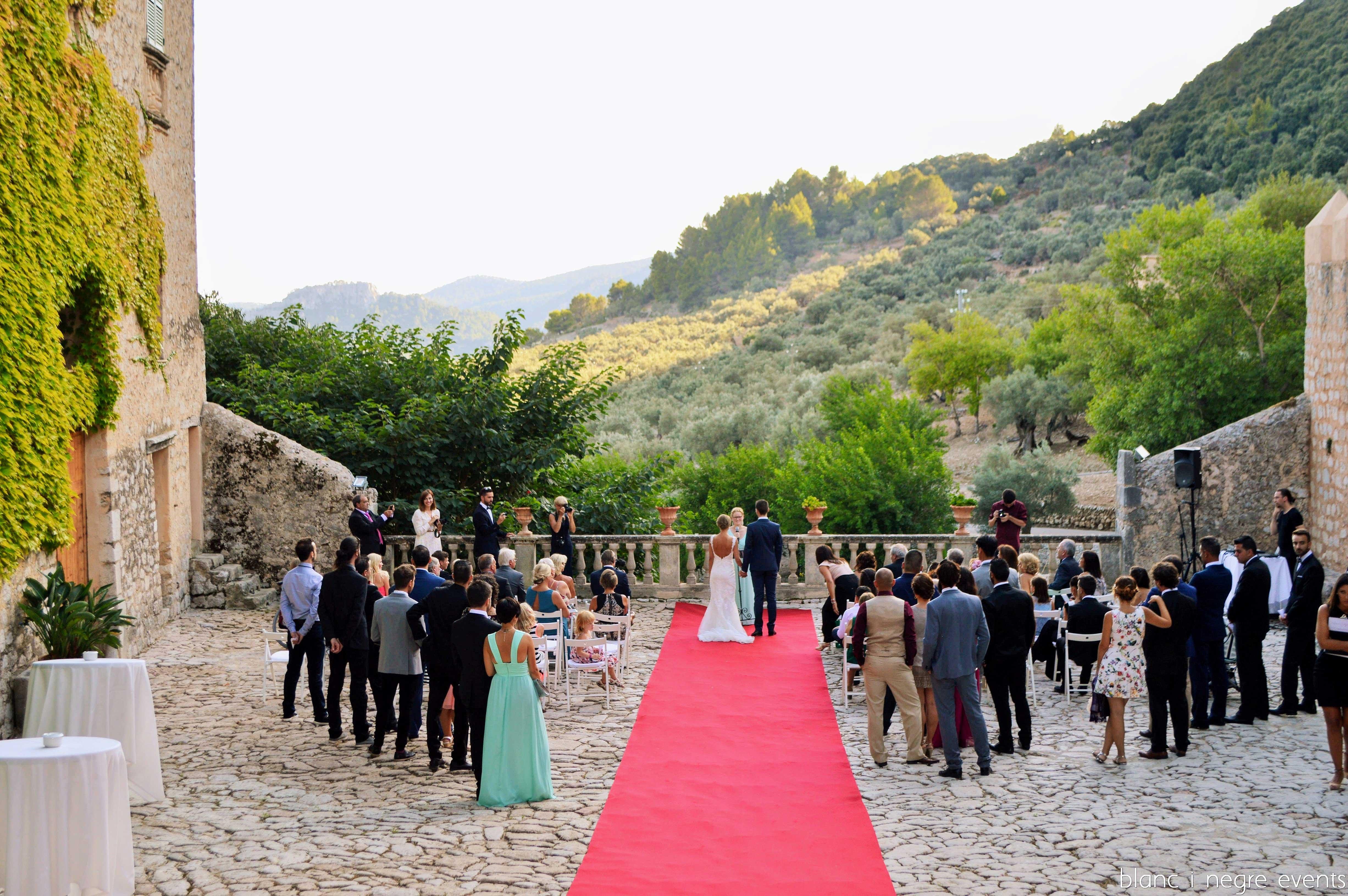 boda campestre blanc i negre events