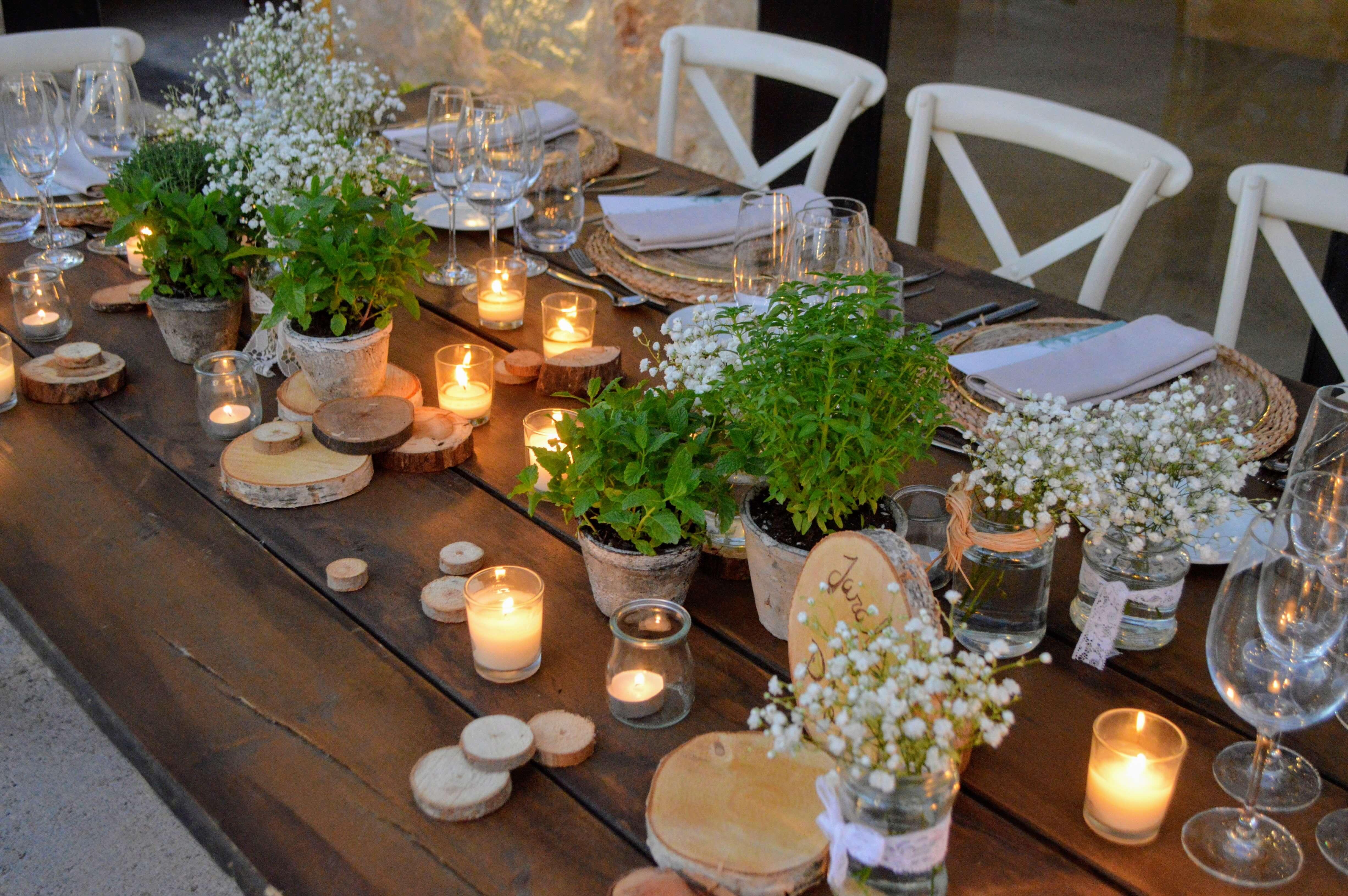 Mesa bodas blanc i negre events
